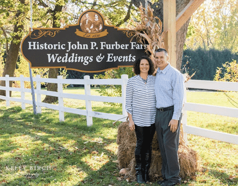 Owners Wayne and Angi Butt of Barn Wedding Venue